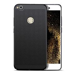 Handyhülle Hülle Kunststoff Schutzhülle Punkte Loch für Huawei Honor 8 Lite Schwarz