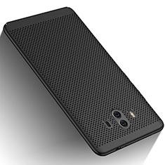 Handyhülle Hülle Kunststoff Schutzhülle Punkte Loch für Huawei Mate 10 Schwarz