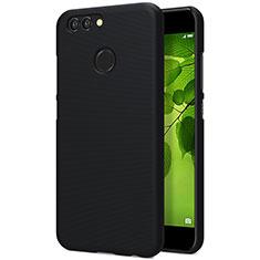 Handyhülle Hülle Kunststoff Schutzhülle Punkte Loch für Huawei Nova 2 Plus Schwarz