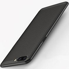Handyhülle Hülle Kunststoff Schutzhülle Punkte Loch für OnePlus 5 Schwarz