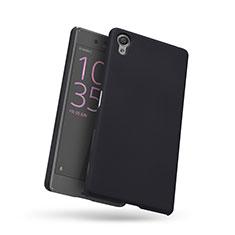 Handyhülle Hülle Kunststoff Schutzhülle Punkte Loch für Sony Xperia X Schwarz