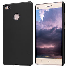 Handyhülle Hülle Kunststoff Schutzhülle Punkte Loch für Xiaomi Mi 4S Schwarz