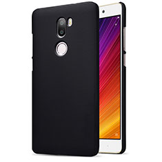 Handyhülle Hülle Kunststoff Schutzhülle Punkte Loch für Xiaomi Mi 5S Plus Schwarz