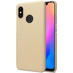 Handyhülle Hülle Kunststoff Schutzhülle Punkte Loch für Xiaomi Mi 8 Gold