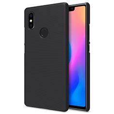 Handyhülle Hülle Kunststoff Schutzhülle Punkte Loch für Xiaomi Mi 8 SE Schwarz