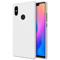 Handyhülle Hülle Kunststoff Schutzhülle Punkte Loch für Xiaomi Mi 8 SE Weiß