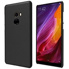 Handyhülle Hülle Kunststoff Schutzhülle Punkte Loch für Xiaomi Mi Mix 2 Schwarz