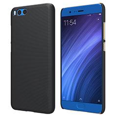 Handyhülle Hülle Kunststoff Schutzhülle Punkte Loch für Xiaomi Mi Note 3 Schwarz