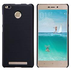Handyhülle Hülle Kunststoff Schutzhülle Punkte Loch für Xiaomi Redmi 3X Schwarz