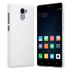 Handyhülle Hülle Kunststoff Schutzhülle Punkte Loch für Xiaomi Redmi 4 Standard Edition Weiß