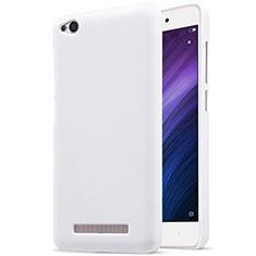 Handyhülle Hülle Kunststoff Schutzhülle Punkte Loch für Xiaomi Redmi 4A Weiß