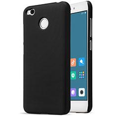 Handyhülle Hülle Kunststoff Schutzhülle Punkte Loch für Xiaomi Redmi 4X Schwarz