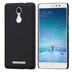 Handyhülle Hülle Kunststoff Schutzhülle Punkte Loch für Xiaomi Redmi Note 3 Pro Schwarz