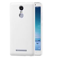 Handyhülle Hülle Kunststoff Schutzhülle Punkte Loch für Xiaomi Redmi Note 3 Pro Weiß