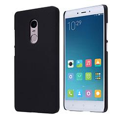 Handyhülle Hülle Kunststoff Schutzhülle Punkte Loch für Xiaomi Redmi Note 4 Schwarz