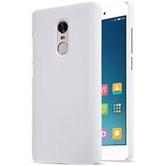 Handyhülle Hülle Kunststoff Schutzhülle Punkte Loch für Xiaomi Redmi Note 4 Standard Edition Weiß