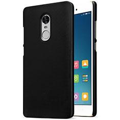 Handyhülle Hülle Kunststoff Schutzhülle Punkte Loch für Xiaomi Redmi Note 4X Schwarz