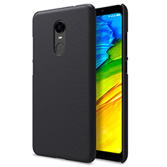 Handyhülle Hülle Kunststoff Schutzhülle Punkte Loch für Xiaomi Redmi Note 5 Indian Version Schwarz