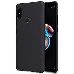 Handyhülle Hülle Kunststoff Schutzhülle Punkte Loch für Xiaomi Redmi Note 5 Pro Schwarz