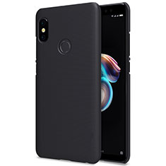 Handyhülle Hülle Kunststoff Schutzhülle Punkte Loch für Xiaomi Redmi Note 5 Schwarz