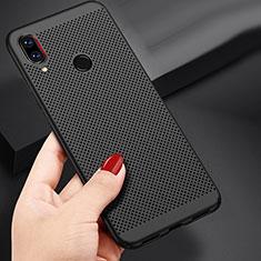 Handyhülle Hülle Kunststoff Schutzhülle Punkte Loch für Xiaomi Redmi Note 7 Schwarz