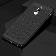 Handyhülle Hülle Kunststoff Schutzhülle Punkte Loch Tasche für Huawei Mate 10 Lite Schwarz