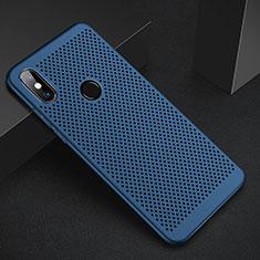 Handyhülle Hülle Kunststoff Schutzhülle Punkte Loch Tasche für Xiaomi Mi A2 Blau
