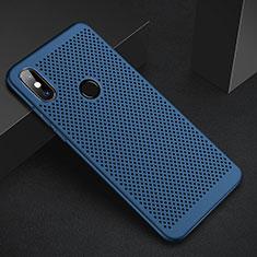 Handyhülle Hülle Kunststoff Schutzhülle Punkte Loch Tasche für Xiaomi Mi A2 Lite Blau