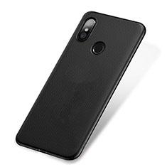 Handyhülle Hülle Kunststoff Schutzhülle Punkte Loch W01 für Xiaomi Mi 8 Schwarz
