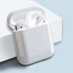 Handyhülle Hülle Kunststoff Schutzhülle Tasche für AirPods Ladekoffer Matt Weiß