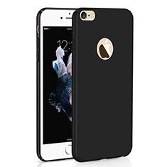 Handyhülle Hülle Kunststoff Schutzhülle Tasche Matt M01 für Apple iPhone 6S Schwarz