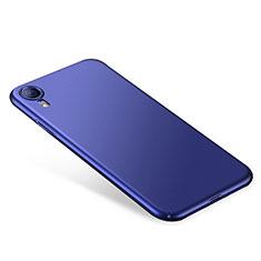 Handyhülle Hülle Kunststoff Schutzhülle Tasche Matt M01 für Apple iPhone XR Blau