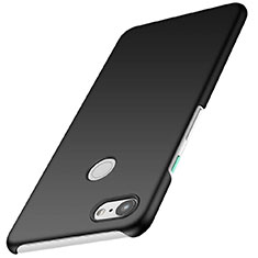 Handyhülle Hülle Kunststoff Schutzhülle Tasche Matt M01 für Google Pixel 3 Schwarz