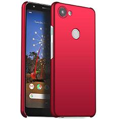 Handyhülle Hülle Kunststoff Schutzhülle Tasche Matt M01 für Google Pixel 3a Rot