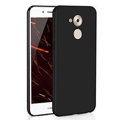 Handyhülle Hülle Kunststoff Schutzhülle Tasche Matt M01 für Huawei Enjoy 6S Schwarz