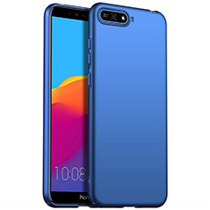 Handyhülle Hülle Kunststoff Schutzhülle Tasche Matt M01 für Huawei Enjoy 8e Blau