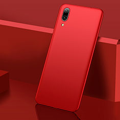 Handyhülle Hülle Kunststoff Schutzhülle Tasche Matt M01 für Huawei Enjoy 9 Rot