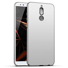 Handyhülle Hülle Kunststoff Schutzhülle Tasche Matt M01 für Huawei G10 Silber