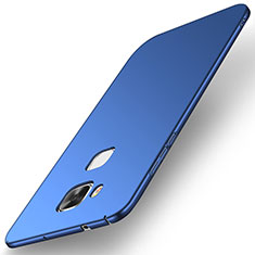 Handyhülle Hülle Kunststoff Schutzhülle Tasche Matt M01 für Huawei G7 Plus Blau