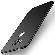 Handyhülle Hülle Kunststoff Schutzhülle Tasche Matt M01 für Huawei G7 Plus Schwarz