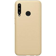 Handyhülle Hülle Kunststoff Schutzhülle Tasche Matt M01 für Huawei Honor 20 Lite Gold