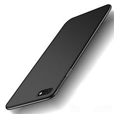 Handyhülle Hülle Kunststoff Schutzhülle Tasche Matt M01 für Huawei Honor Play 7 Schwarz