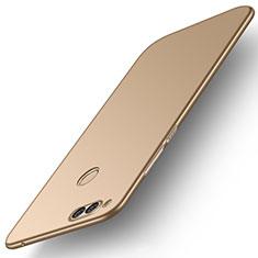 Handyhülle Hülle Kunststoff Schutzhülle Tasche Matt M01 für Huawei Honor Play 7X Gold