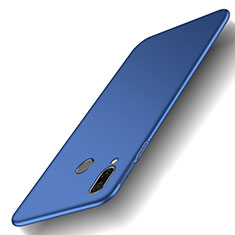 Handyhülle Hülle Kunststoff Schutzhülle Tasche Matt M01 für Huawei Honor Play Blau