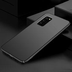 Handyhülle Hülle Kunststoff Schutzhülle Tasche Matt M01 für Huawei Honor V30 Pro 5G Schwarz