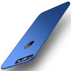 Handyhülle Hülle Kunststoff Schutzhülle Tasche Matt M01 für Huawei Honor View 20 Blau