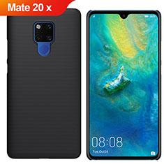 Handyhülle Hülle Kunststoff Schutzhülle Tasche Matt M01 für Huawei Mate 20 X 5G Schwarz