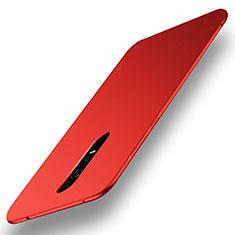 Handyhülle Hülle Kunststoff Schutzhülle Tasche Matt M01 für Huawei Mate RS Rot