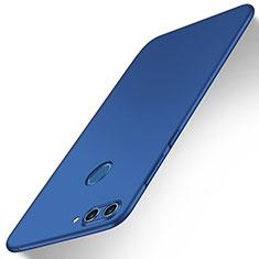 Handyhülle Hülle Kunststoff Schutzhülle Tasche Matt M01 für Huawei Nova 2 Blau