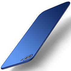 Handyhülle Hülle Kunststoff Schutzhülle Tasche Matt M01 für Huawei Nova 2S Blau